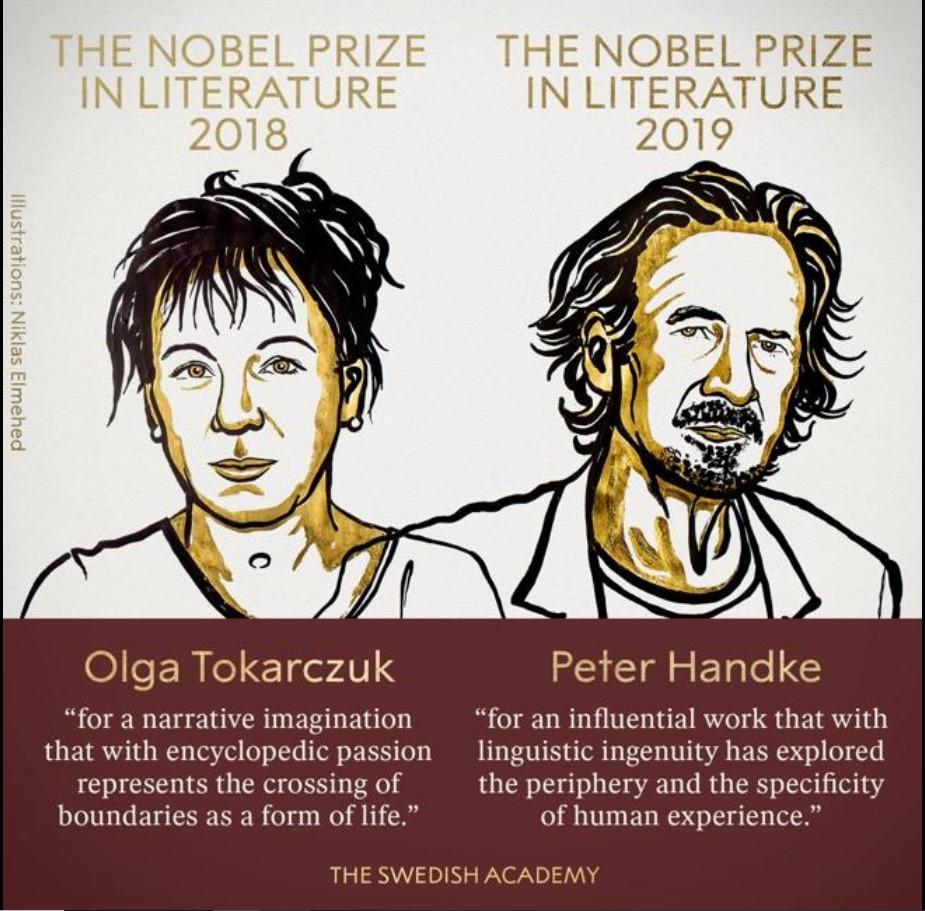 Ganadores Premio Nobel