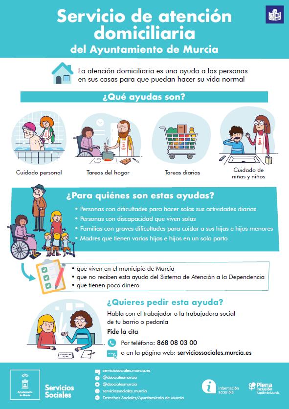 Los Servicios Sociales de Murcia mejoran su web con un contenido más accesible